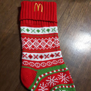 Rare McDonald's Stocking New without tags